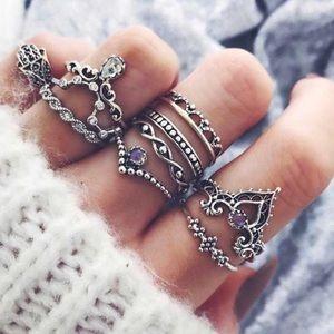 🔮GYPSY RING SET🔮